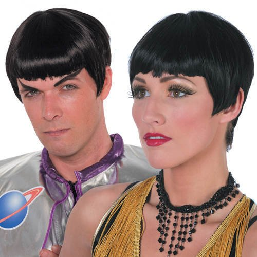 Spock Perücke (Perücke Space People,)