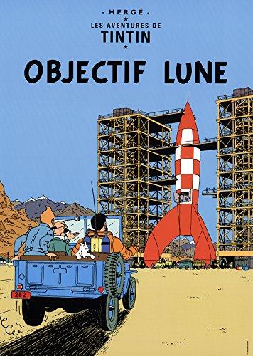 teuer des de Tim und Struppi: OBJECTIF Lune Poster ()