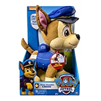 Paw Patrol Nickelodeon, -Real Talking Chase Plush