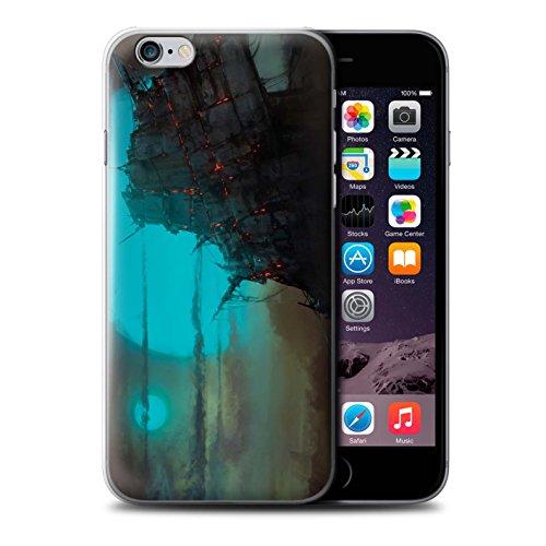Offiziell Chris Cold Hülle / Case für Apple iPhone 6S+/Plus / Gift Haupt Muster / Gefallene Erde Kollektion Gift Haupt