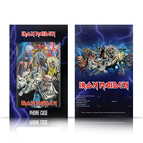 Ufficiale Iron Maiden Best Of Beast Arte Cover Retro Rigida per Apple iPhone 6 / 6s Evolution