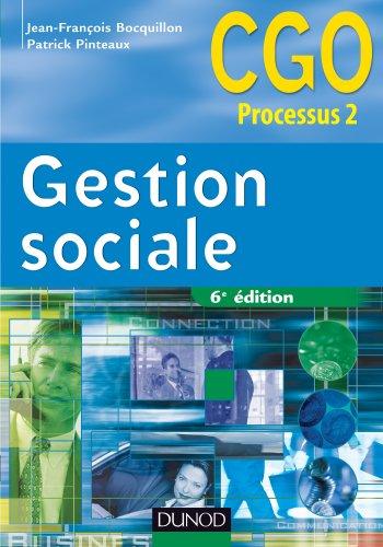 Gestion sociale - 6e édition - Manuel