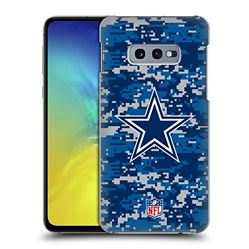Head Case Designs Offizielle NFL Digitales Camouflage 2018/19 Dallas Cowboys Logo Harte Rueckseiten Huelle kompatibel mit Samsung Galaxy S10e - Dallas Design