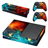 #2: Elton Space Protector Theme 3M Skin Sticker Cover for Xbox One Console, Kinect & Controllers