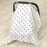 Sonnen- und Windschutz für Kinderautositz 115x80cm T2 Tuch Sonnentuch Schutz Sonnenschutz Babysitz Babyschale