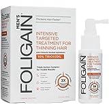 Foligain® 10% Trioxidil Haarausfall Therapie Für Männer   Effektives Spray Gegen Dünner Werdendes Haar   Für Starkes & Gesundes Haar   Hydratisierungstechnologie   Einzigartige Dreifachwirkung (1)