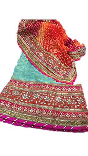NS Creation Women's Pure Crepe Dollar Boutie Bridal Lehenga Choli With Pure...