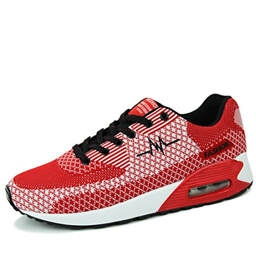Men's Mesh Barefoot Comfortable Running Shoes red