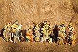 Giovanni personaggi dipinta a mano 10cm 15pezzi K 134