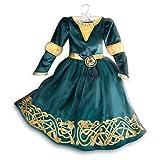 Disney original - Disney Prinzessin Merida - Legende der Highlands - Kostümkleid für Kinder - 4 Jahre