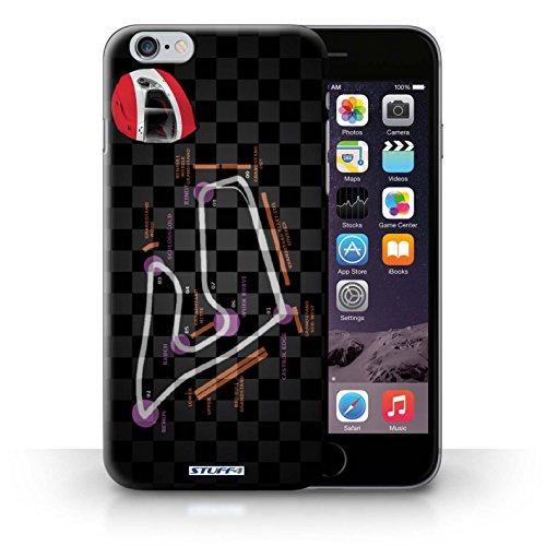 Kobalt® Imprimé Etui / Coque pour iPhone 6+/Plus 5.5 / USA/Austin conception / Série 2014 F1 Piste Autriche/Spielberg