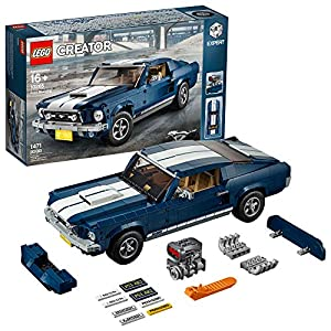 Lego Creator 10265 - 1967 Ford Mustang 390 GT 2+2 Fastback (1471 Pezzi) LEGO Creator 3-in-1 LEGO
