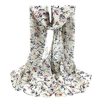 per comprare marchio famoso disponibilità nel Regno Unito Xmiral Sciarpa Donna,Scarf Donna Foulard Donna foulard in Seta ...
