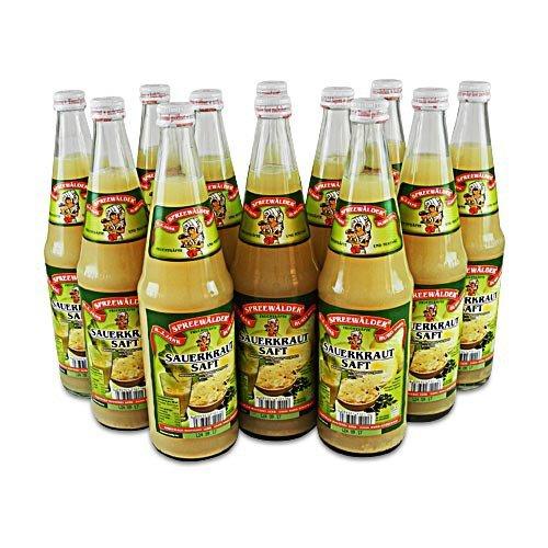 Spreewälder Sauerkrautsaft 12er Pack (12 Flaschen à 0.7 l)