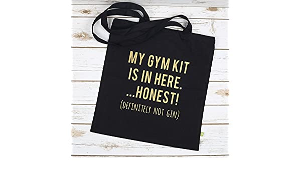 Gin and Gym Tote Bag  Amazon.co.uk  Handmade 8429aed9d2
