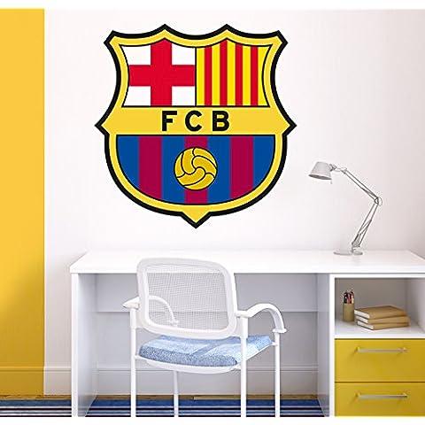 Vinilo decorativo oficial FCBarcelona - Escudo (94x94cm)