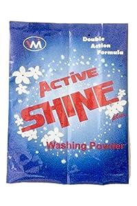 Active Shine Plus Double Action Formula Powder Detergent, 2kg (Pack of 1)