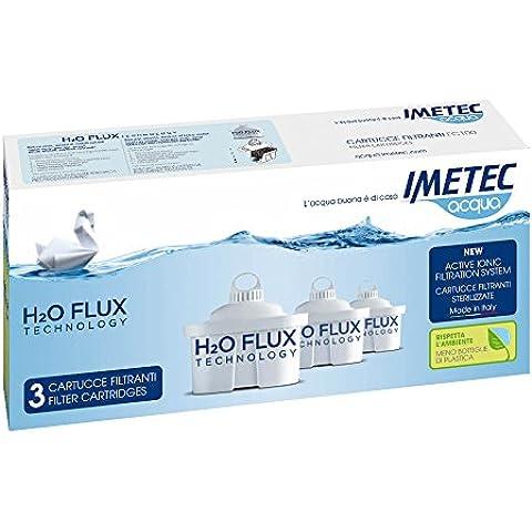 Imetec H2O Flux Technology FC 100 Cartucce Filtranti per Prodotti Acqua