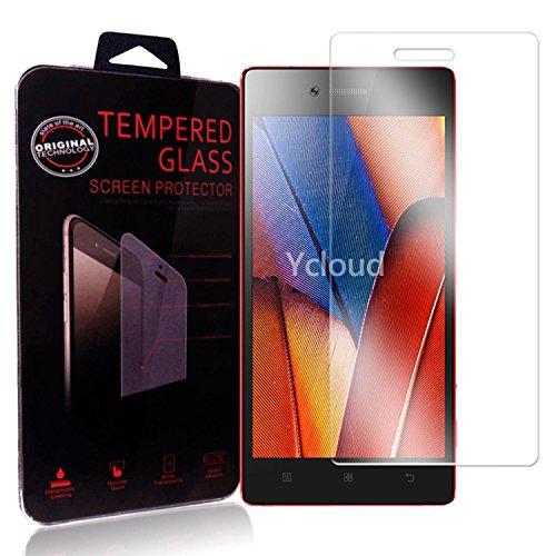 Ycloud Pellicola Protezione di schermo per Lenovo Vibe Shot Z90-7 in vetro temperato Ultra Resistente Protezione Esterna Durezza 9H (0,26mm HD Transparent High)