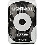 BIOBIZZ Light-Mix Sac Terreau Mélange d'Empotage Léger, Transparent, 50 L