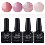 Annabelle Esmaltes Permanentes Para Uñas Nail Art Soak Off UV LED Esmalte Permanente de gel (Lot 4 pcs 7.3ML/pc ) 079