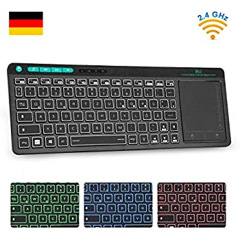 Logitech K400 Wireless Touch Tastatur schwarz: Amazon.de