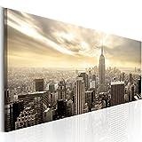 murando - Bilder New York 135x45 cm - Leinwandbilder - Fertig Aufgespannt - Vlies Leinwand - 1 Teilig - Wandbilder XXL - Kunstdrucke - Wandbild - New York NY City Stadt d-B-0081-b-b