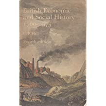 British Economic and Social History, 1700-1975