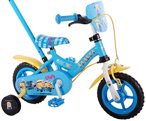 Kinderfahrrad Minions Ich - Einfach unverbesserlich 10 Zoll, 12 Zoll, 16 Zoll, blau Jungen Fahrrad Rücktrittbremse (10 Zoll)
