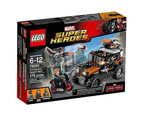LEGO SUPER HEROES - SET EL PELIGROSO GOLPE DE CALAVERA  MULTICOLOR (76050)