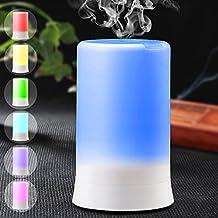 DLAND 7 colori Aromaterapia elettrico Olio essenziale diffusore freddo della