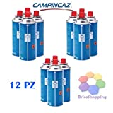 Best stufe portatili - 12 PEZZI CAMPINGAZ CARTUCCIA GAS BUTANO CP 250 Review