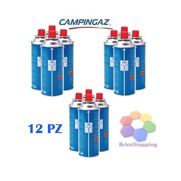 FORNELLO DA TAVOLO PORTATILE CON DOPPIA ALIMENTAZIONE 6 CARTUCCE GAS INCLUSE