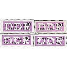 sellos para coleccionistas: DDR (RDA) db6,db7 N.,db8,db9 nuevo con goma original 1956 Correo