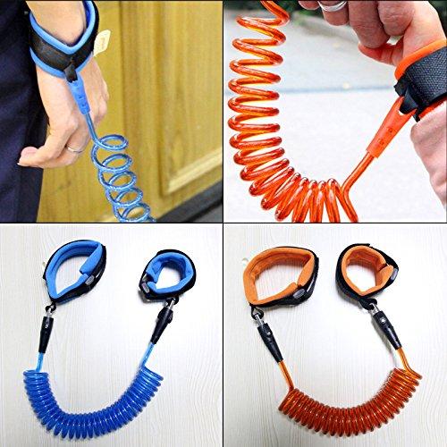 Der Earl® Kind Anti-Lost Sicherheit Handgelenk Link, Gurt Leine Seil Sicherheit Klettverschluss Handgelenkband zu verhindern, dass Kinder und Kinder von verlieren