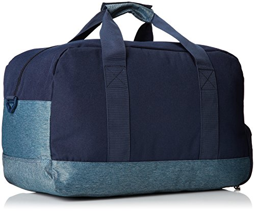 Quiksilver, Borsone UomoMedium Shelter, Blu (Deep Jungle Dark Denim), 10,2 x 19,2 x 12,2 cm, 37 litri Blu (Deep Jungle Dark Denim)