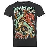 Parkway Drive sharktapuss Offizielle Band T-Shirt Herren BLACK MUSIC Top Tee T Shirt M