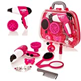 Style Girlz Style 'n Go Hair & Beauty Salon Case - Girls Pretend Play Cosmetic Set