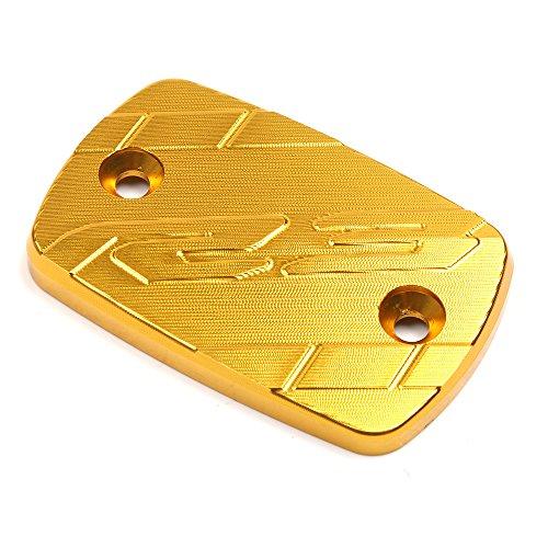 Handbremsen-Komponenten Motorrad Vorne Brems Flüssigkeit Sbehälter Deckel für Yamaha YZF R3,Gold