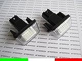 aftertech® Peugeot 5008Partner Tepee B9M49M59Lampen Kennzeichenbeleuchtung LED No Fehler canbus G1C6