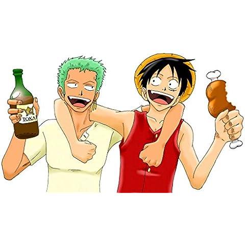 One Piece 3D2Y Ace no Shi wo Koete! Luffy Nakama Tono Chikai (39x24 inch, 98x60 cm) Silk Poster Seda Cartel PJ1B-3546