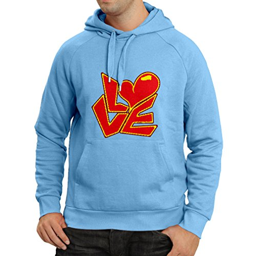 """Hoodie """"Love quotes - I love you gifts"""" (Medium Blue for sale  Delivered anywhere in Ireland"""