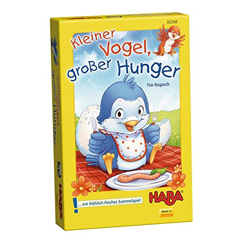 """Haba 302368\"""" Kleiner Vogel, großer Hunger Spiel"""