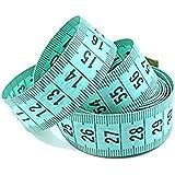 """Bobury 150cm / 60 """"cuerpo de medición de la regla costura a medida cinta métrica suave plana (color al azar)"""