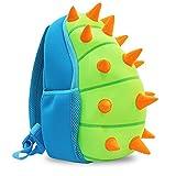 Yisibo Mochilas Para Niños Kindergarten Preescolar Para Niños Pequeños/Niñas Mochila 3D Bolsa De Animales Mochilas Mochila Para Niños Linda Mochila De Guardería, Age1-6(Dinosaurio-Azul)