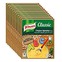 Knorr Alphabet Packet Soup - 50 gm (Pack of 12)