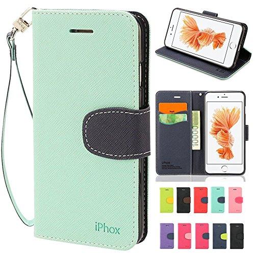 iphone-6s-47-inch-case-iphox-cross-pattern-seriesgreen-blue-wallet-case-id-credit-card-cash-slots-pr