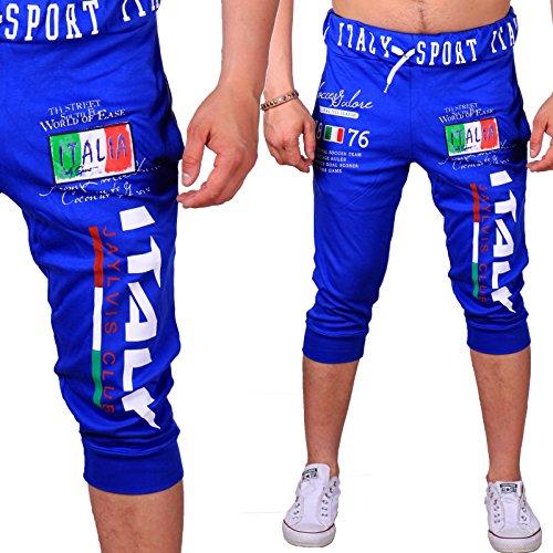violento-pantaloncini-sportivi-uomo-blu-xl
