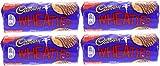 x4 Cadbury Wheaties Milk Chocolate Biscuits 400g