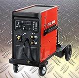 HaTec Star Max Inverter 250 Schweißen in der Profi-Liga MIG-MAG-Schweißgerät MIG-MAG-Schweiß-Inverter MIG-MAG-Inverter Schutzgas-Schweißgerät Elektroden-Schweißgerät